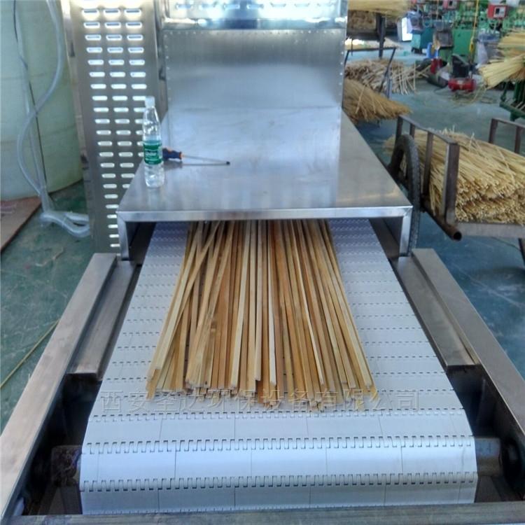 批量生产筷子微波干燥设备烘干杀菌一体机