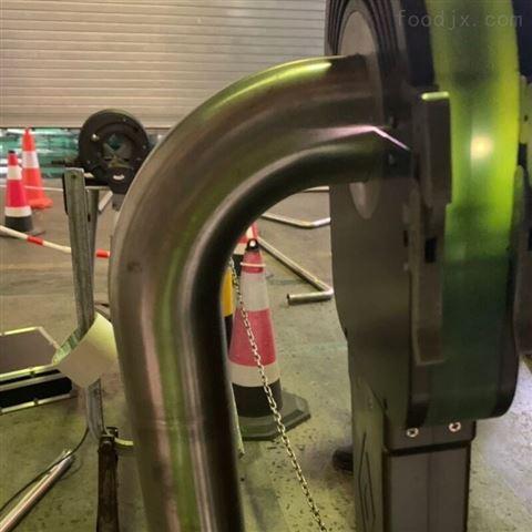 食品管道自动焊接机套在管道上焊接