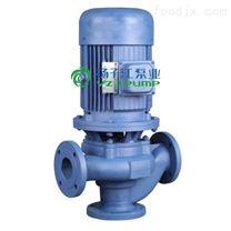 小型管道式无堵塞排污泵