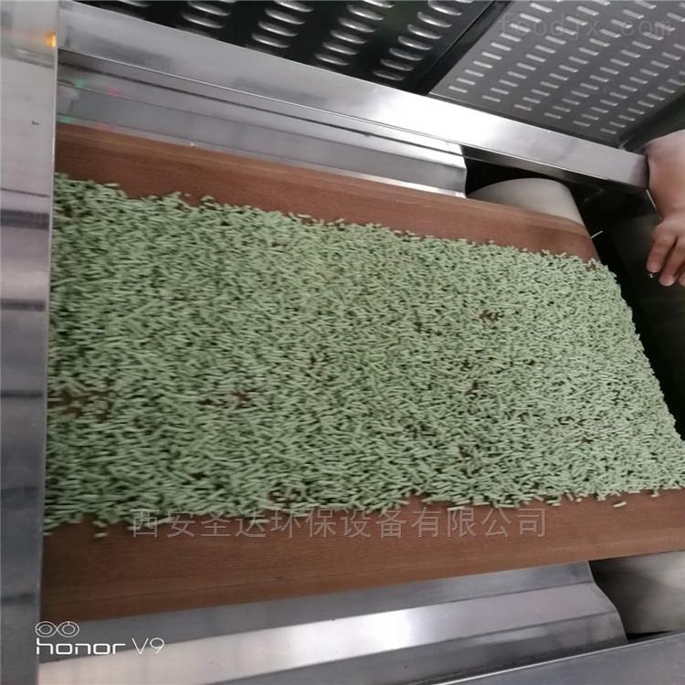 微波干燥设备猫砂烘干机自动化操作方便简单