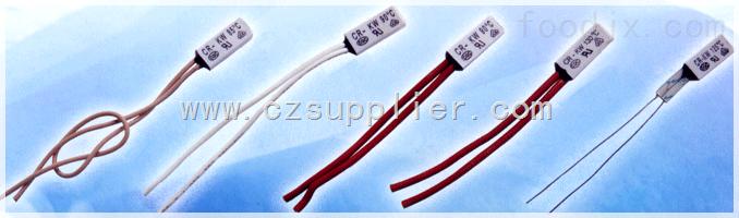 PTC电加热器热保护器(塑封),水泵电机热保护器(塑封)