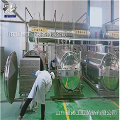 ZN-700诸城小型真空包装盐焗蛋高压杀菌锅