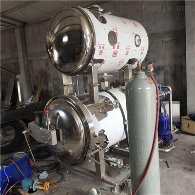 700*1200双层真空卤蛋灭菌釜高温高压易拉罐灭菌设备