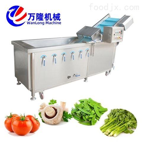 果蔬清洗机 全自动高压喷淋气泡式洗菜机