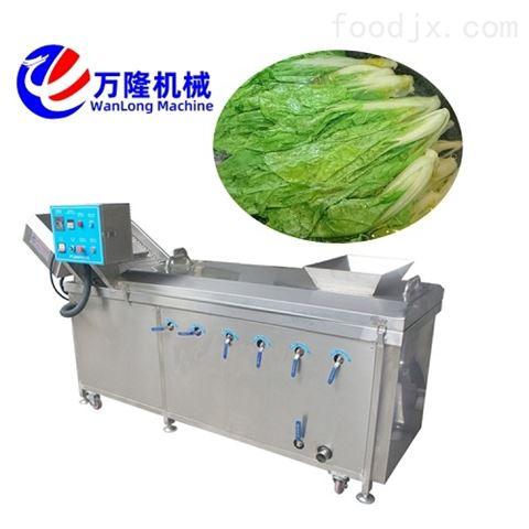 厂商提供茼蒿鸡爪藕片漂烫机设备