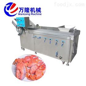 PT-22机械厂不锈钢杏鲍菇鹅肠萝卜漂烫机
