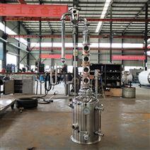 简易蒸馏设备50L不锈钢单层锅紫铜塔柱