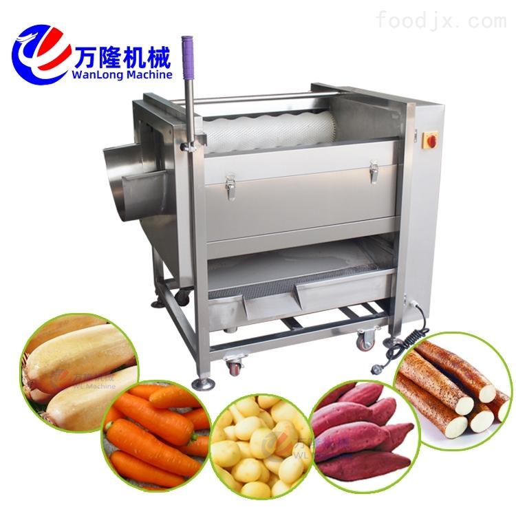 商用南瓜连续式清洗机 高压清洗喷淋机