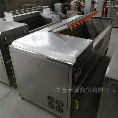 JHY1200蔬菜毛辊清洗去皮机