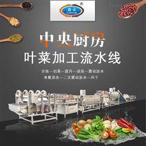 无刀化果蔬》净菜加工整套设备中央厨房流水【线