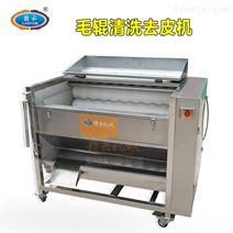 毛刷辊式土豆毛竽生姜莲藕清洗去皮机