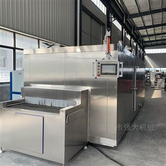 QD-300大福甜品隧道式速冻机