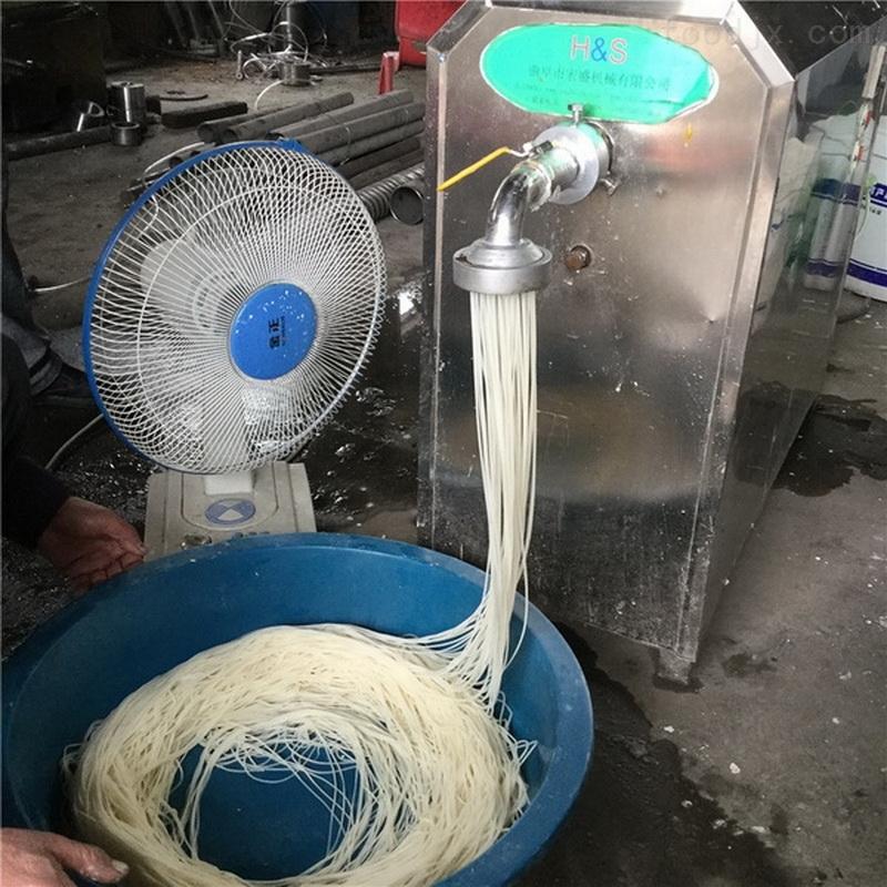 筋道光滑米粉机厂家指导