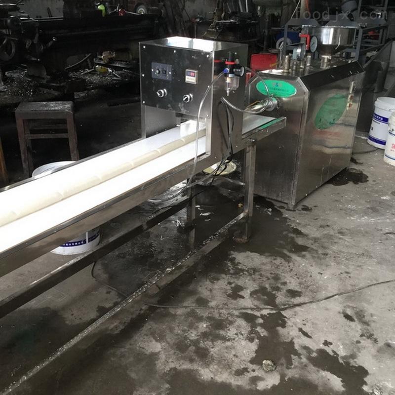 蒸汽式年糕机生产视频