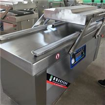 DZ-700半成品酒店菜全自动摆盖式真空包装机