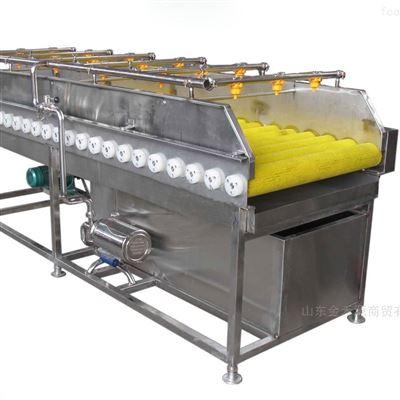 JHY2000供应喷淋式果蔬清洗流水线