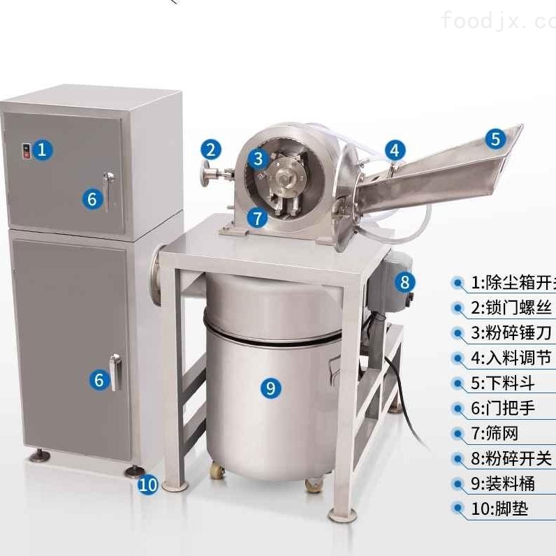 锤式水冷粉碎机除尘系列 超细除尘打粉机