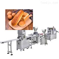 双卷轮夹心面包生产线