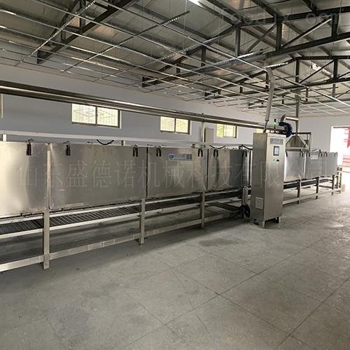 大型红薯烘烤设备生产线