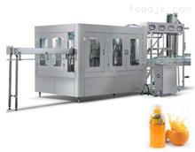 RCGF玻璃瓶全自动果汁饮料生产线