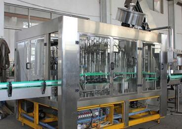茶饮料热灌装生产线