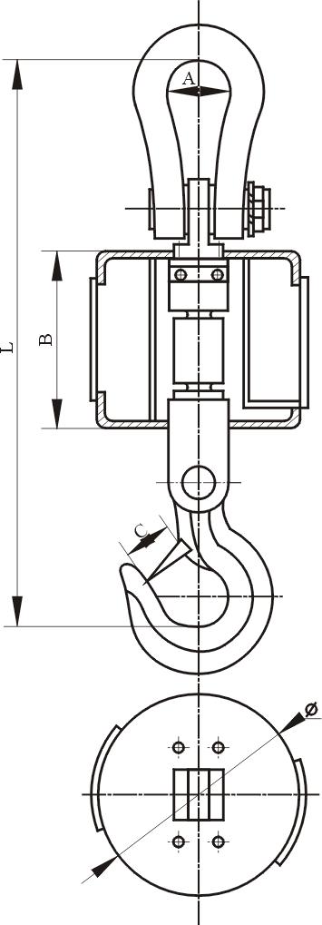 供应无线带打印电子吊钩磅 电子吊磅秤行业