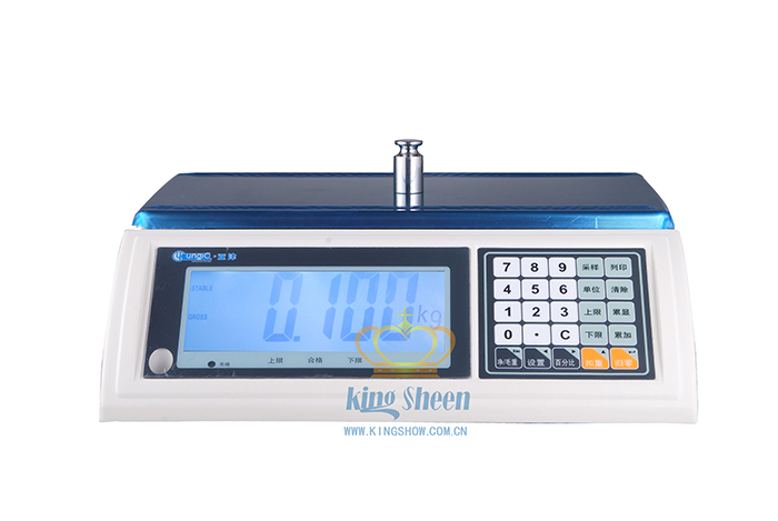 6kg智能化电子计重桌秤