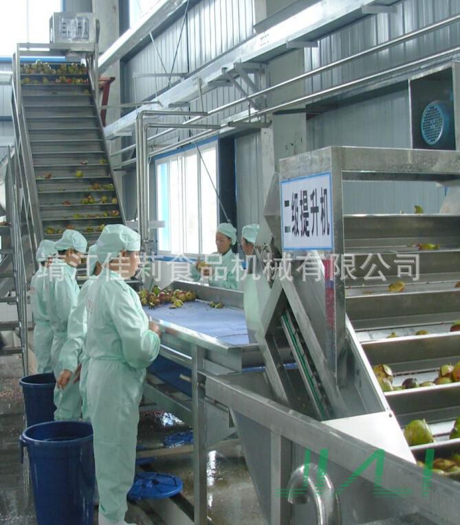 石榴汁前处理生产线设备