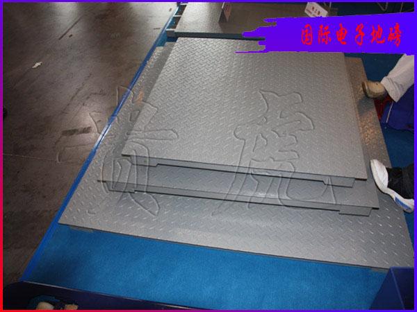 1吨2吨3吨地磅,单层带打印电子地磅,上海地磅厂